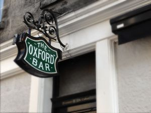 The Oxford Bar in Edinburgh